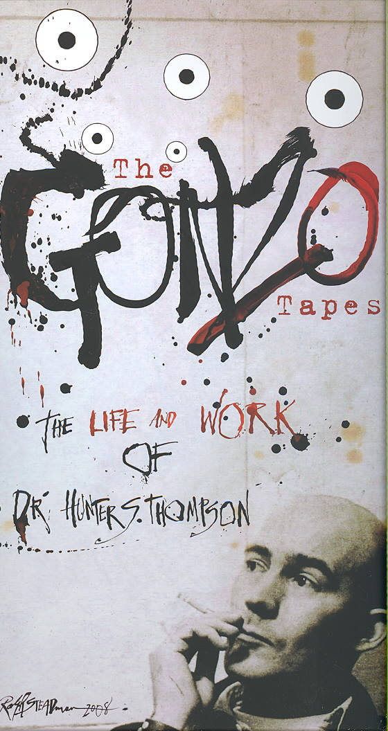 GONZO TAPES:LIFE AND WORK OF DR. HUNT BY THOMPSON,HUNTER S. (CD)